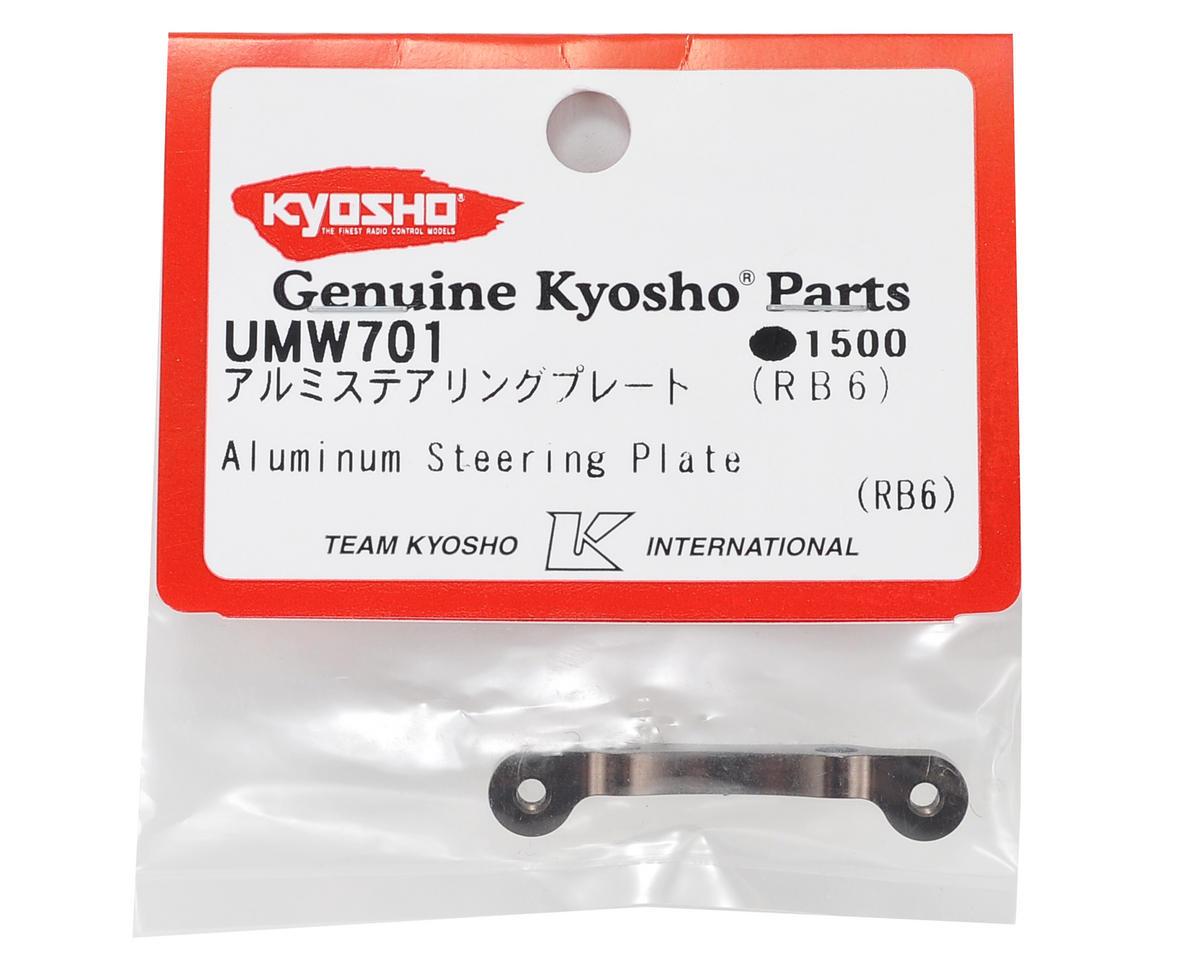 Aluminum Steering Plate (Gunmetal) by Kyosho