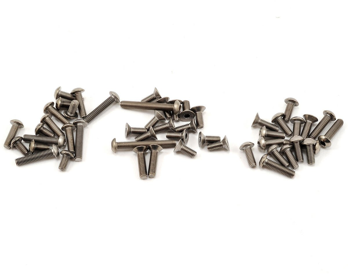 Titanium Screw Set (RB6) by Kyosho