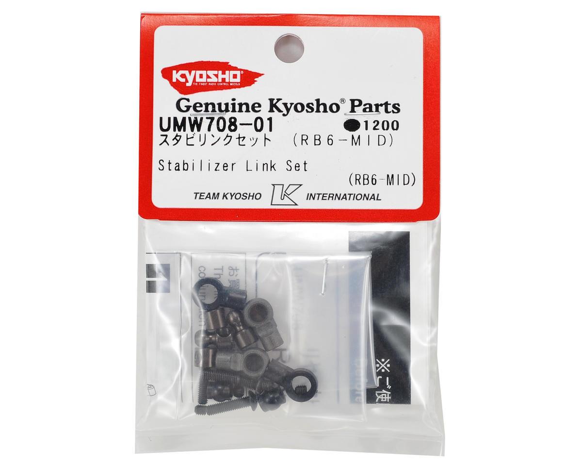 Stabilizer Link Set (Mid Motor) by Kyosho