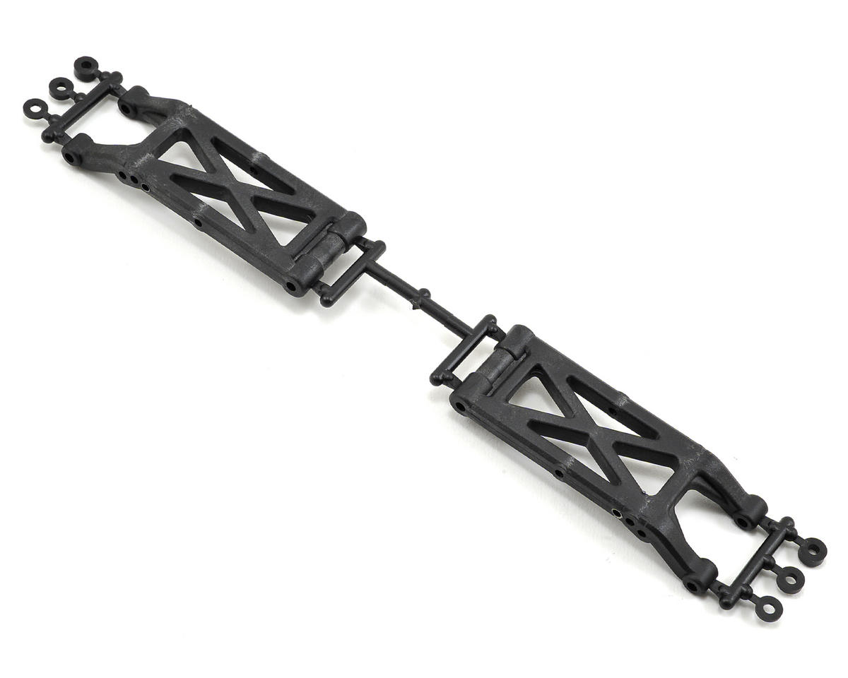 Carbon Composite 3 Hole Rear Suspension Arm Set by Kyosho