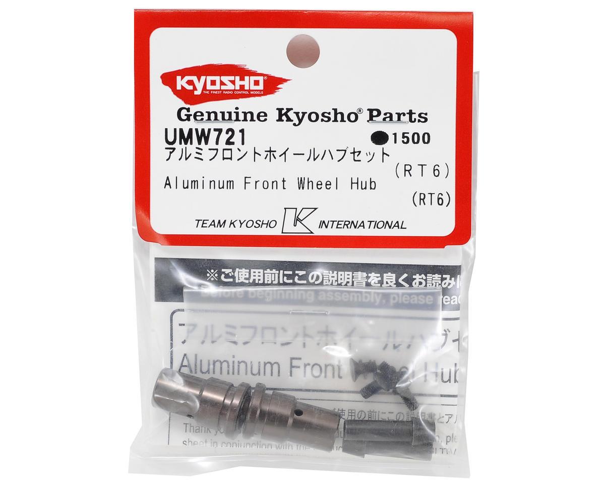 Kyosho Aluminum Front Wheel Hub (Gunmetal) (2)