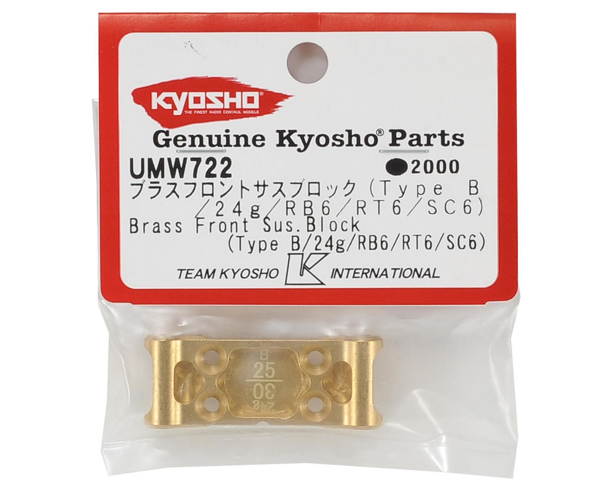 Kyosho Brass Front Suspension Mount Block (Type-B)