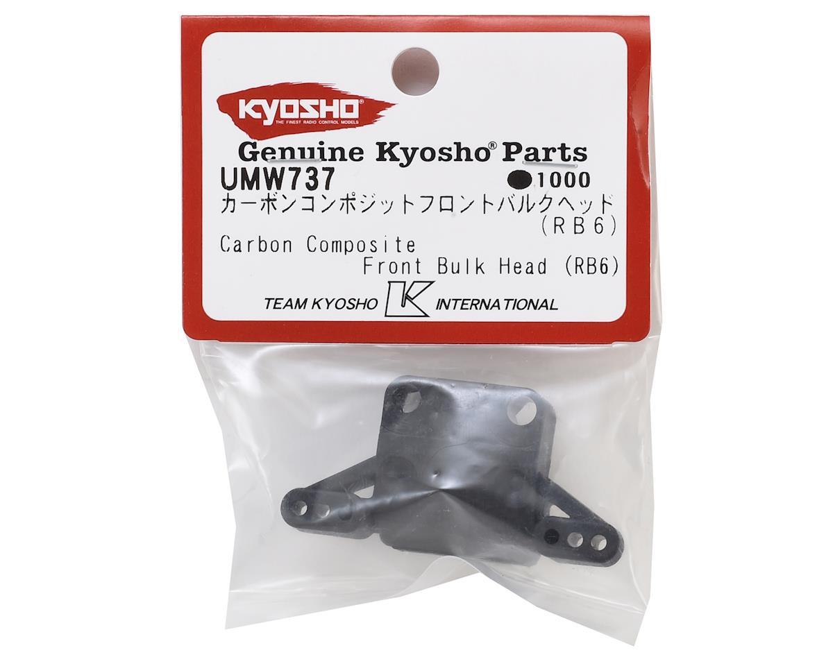 Kyosho RB6.6 Carbon Composite Front Bulkhead