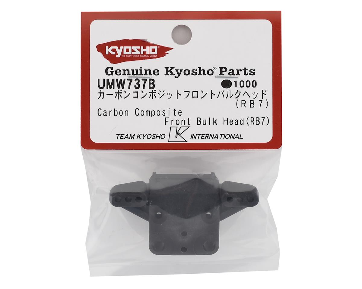 Kyosho RB7 Carbon Front Bulkhead