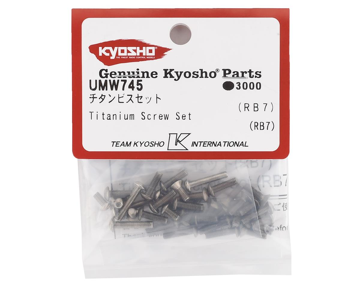 Kyosho Ultima RB7 Titanium Screw Set (36)