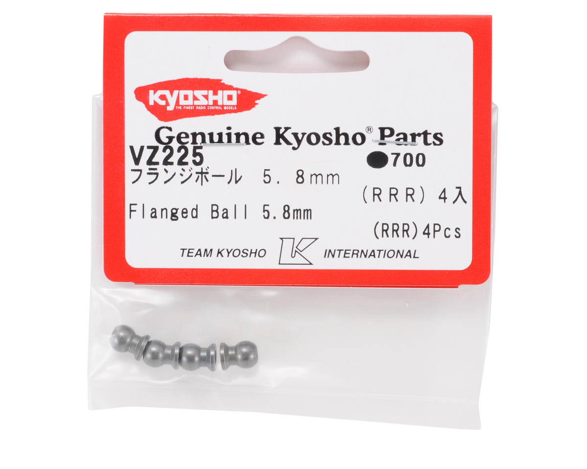 Kyosho 5.8mm Flanged Ball (4)