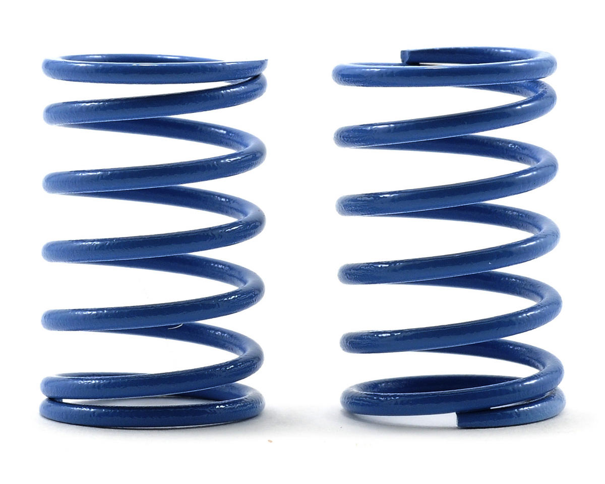 Kyosho Rear Shock Spring Set (4.5-1.6/Light Blue/1.3) (2)