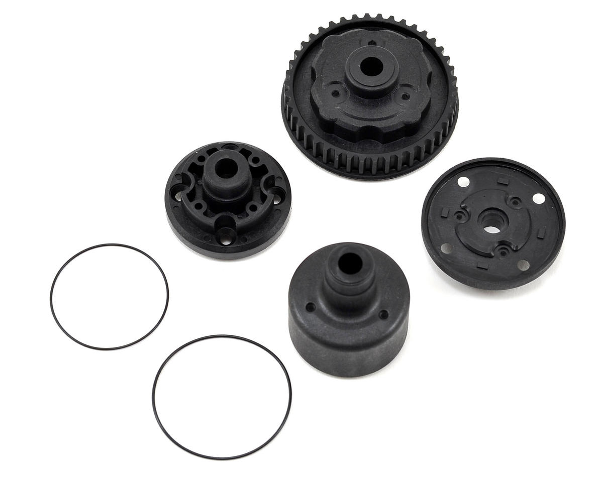 Kyosho V-One R4 Hard Differential Case Set (R4)