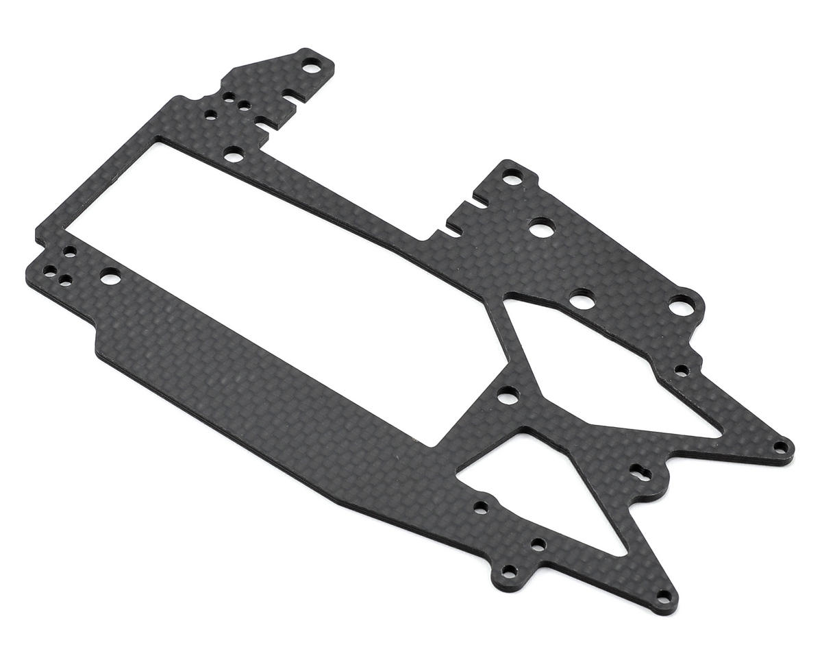 Carbon Fiber Upper Deck (Matte) by Kyosho