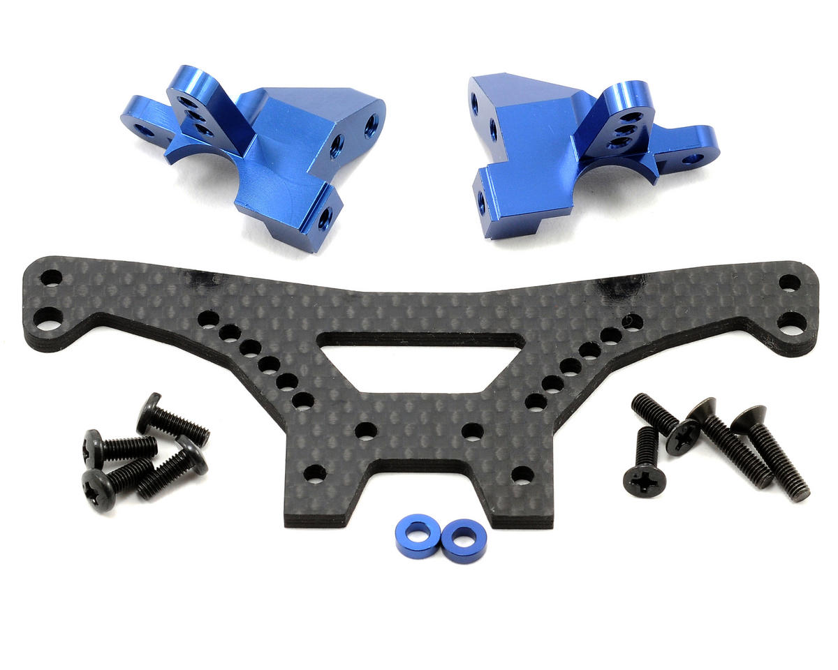 SP Rear Shock Stay Set (Blue) by Kyosho