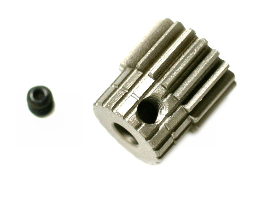 Kyosho 48P Hardened Aluminum Pinion Gear (3.17mm Bore)