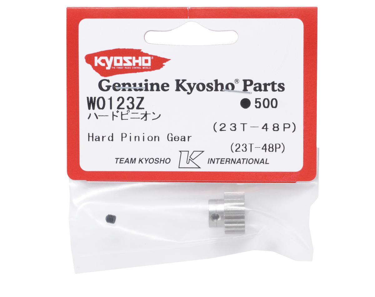 Kyosho 48P Hardened Aluminum Pinion Gear (3.17mm Bore) (23T)