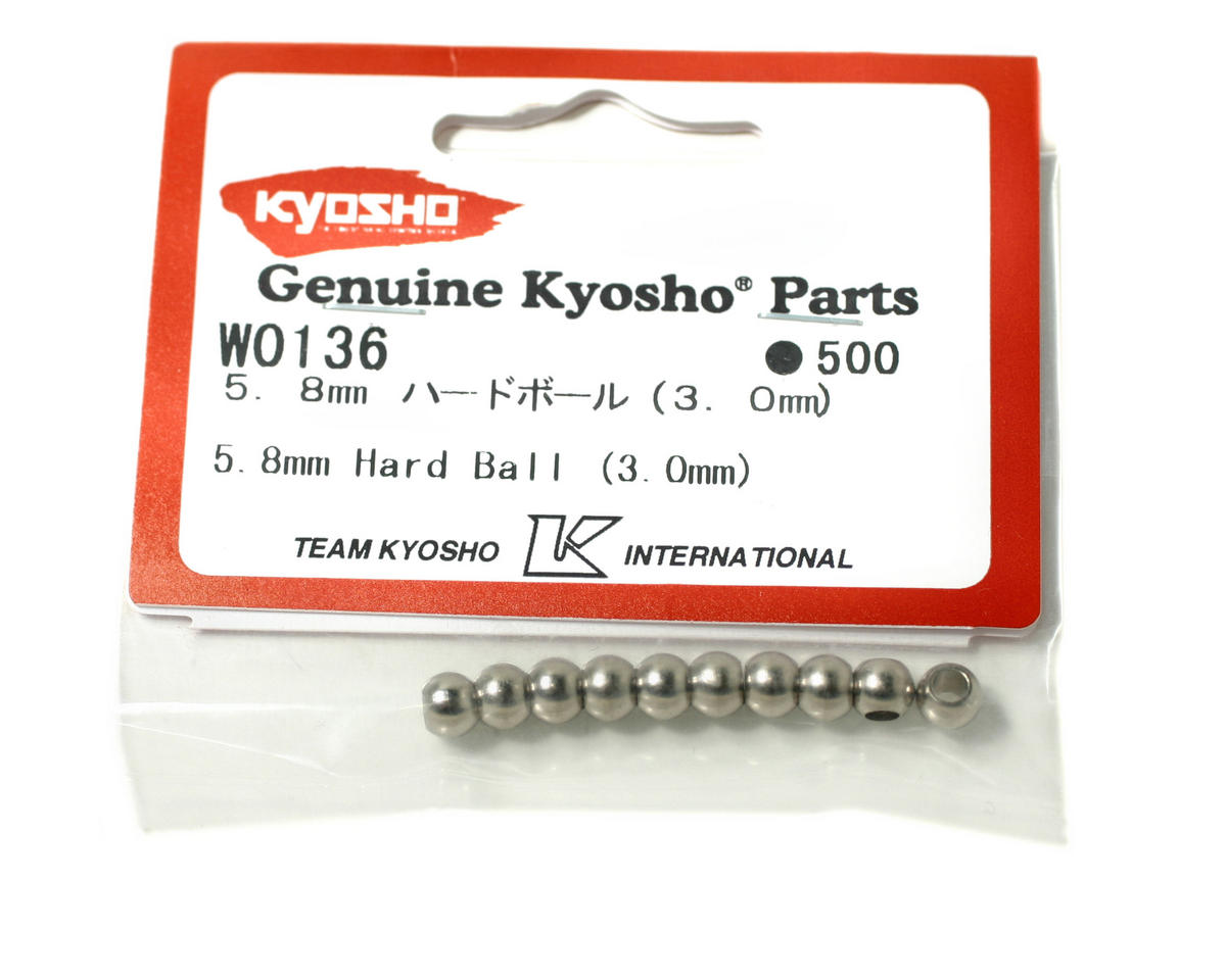Kyosho 5.8mm Hardened Shock Ball (10) (ZX-5)