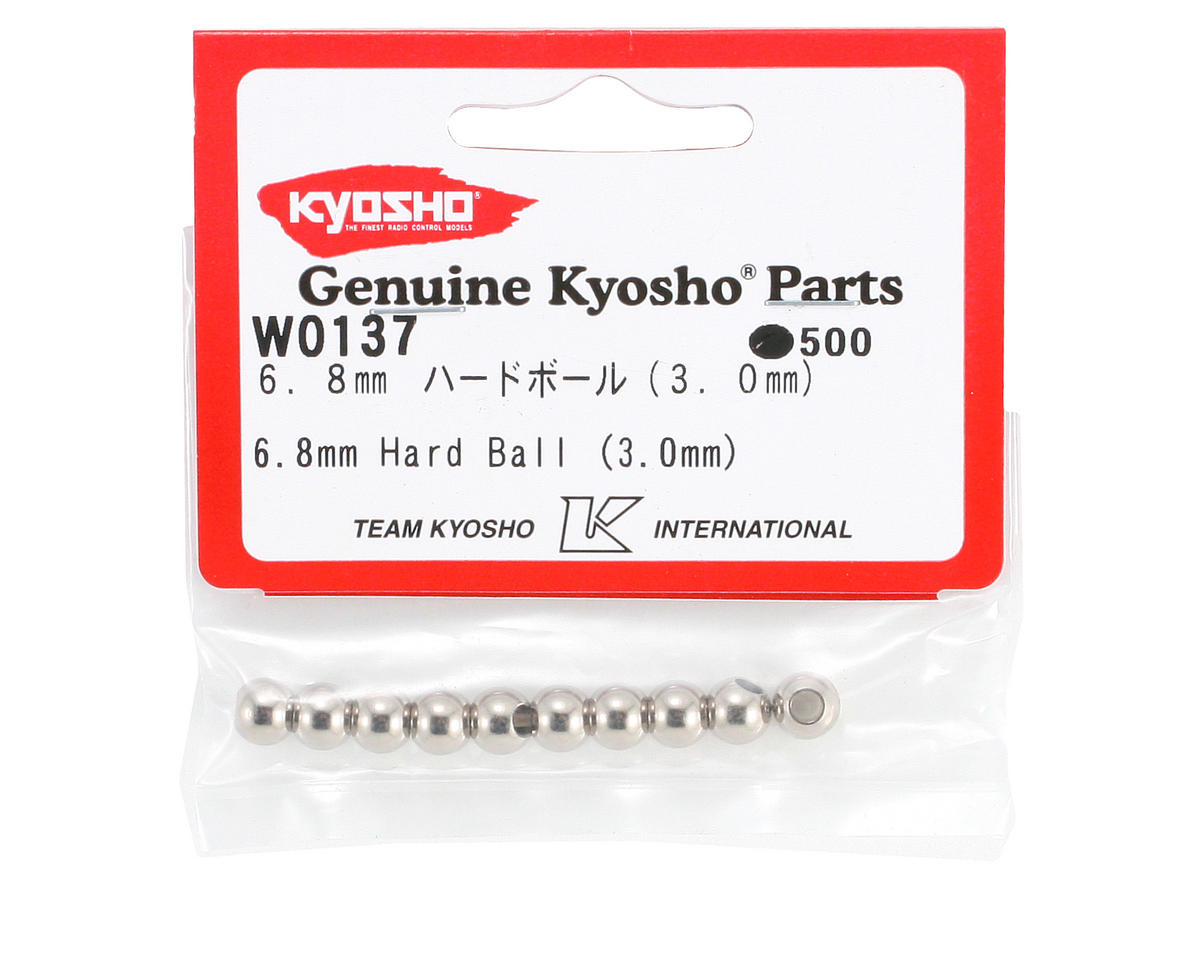 Kyosho 6.8mm Hard Ball (10) (3.0mm)