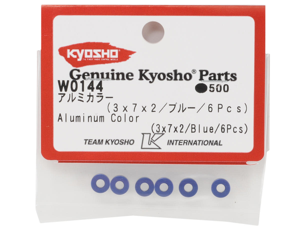 Kyosho 3x7x2mm Aluminum Collar (6)
