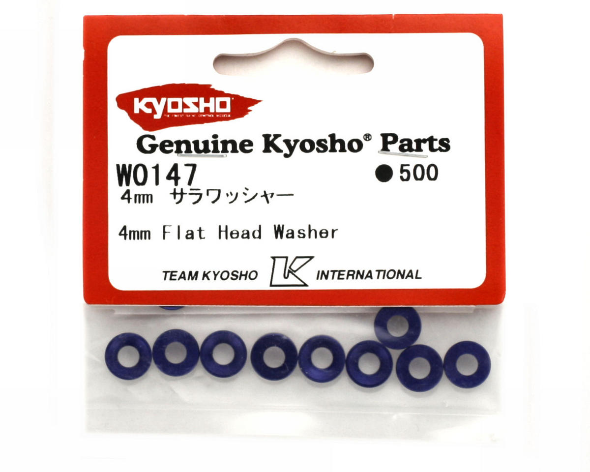 Kyosho 4mm Flat Head Washer
