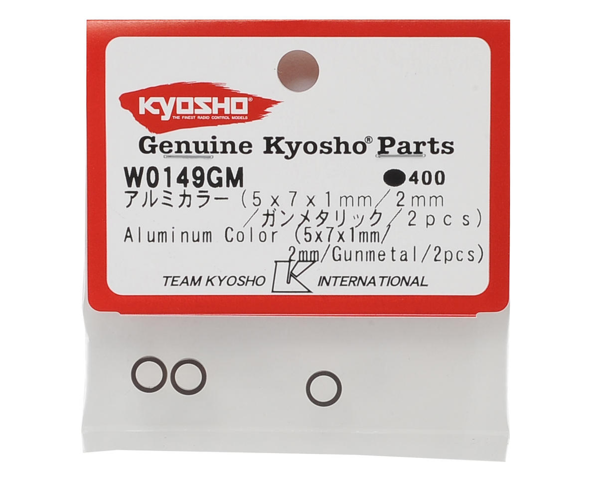 5x7mm Aluminum Collar (4) by Kyosho