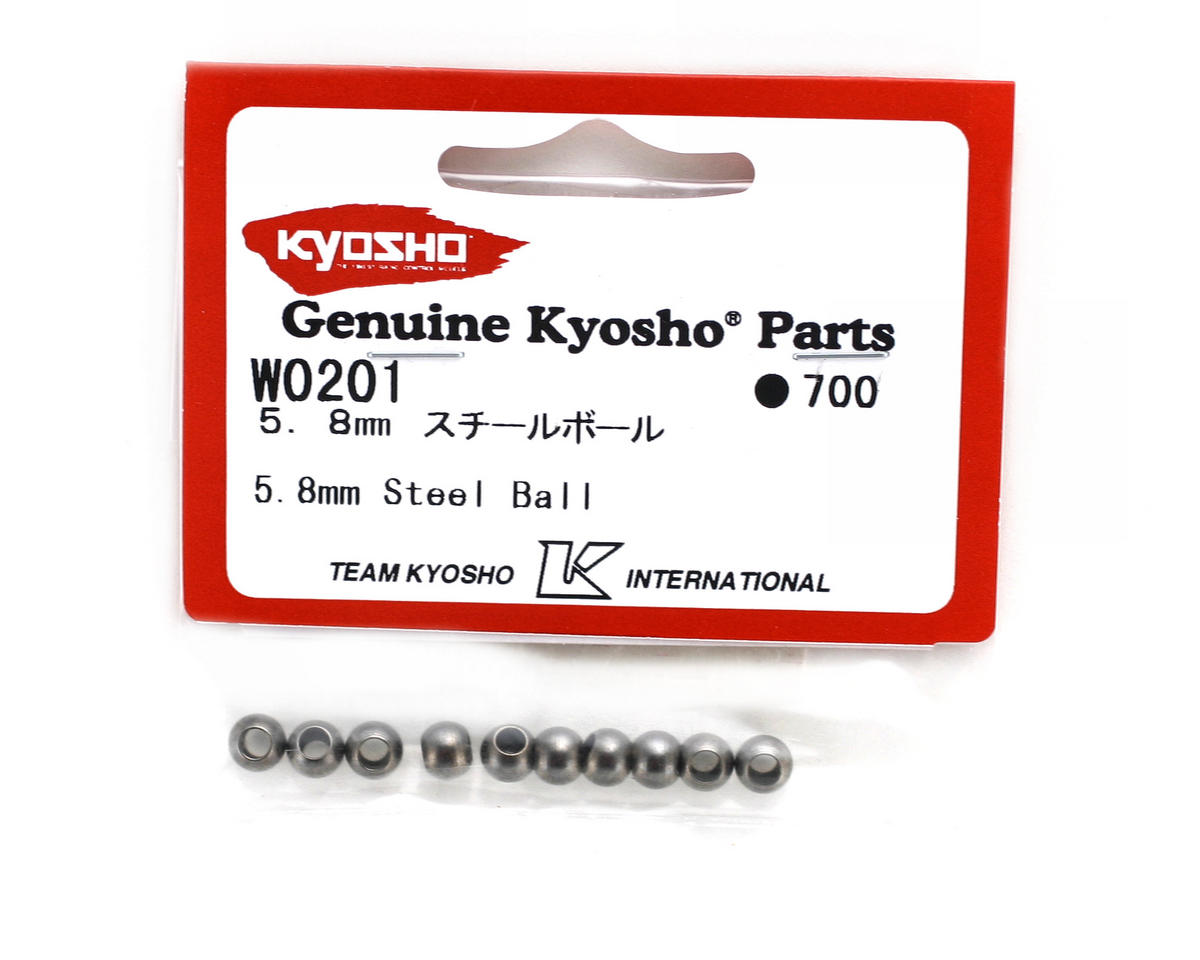 Kyosho 5.8mm Steel Balls (10)