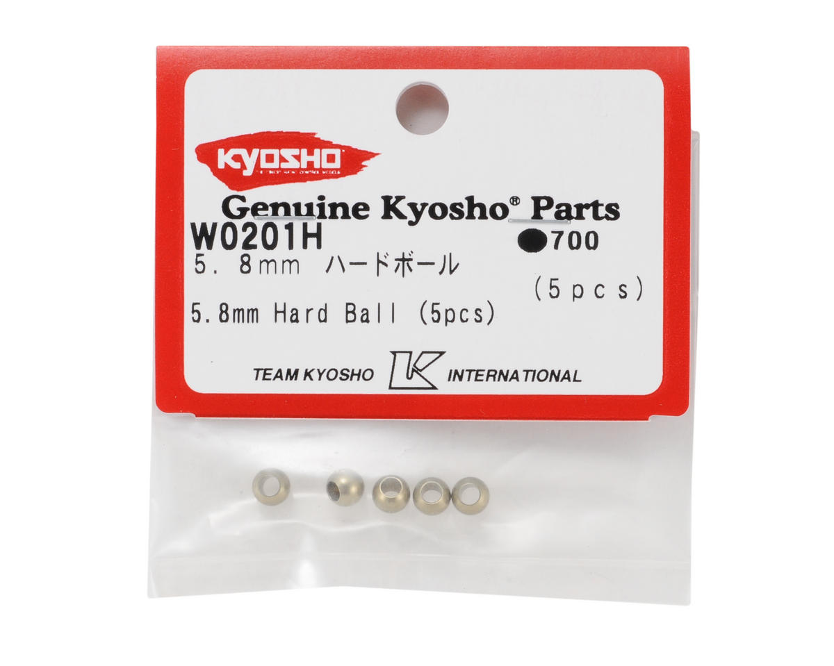 Kyosho 5.8mm Hard Anodized 7075 Lower Sway Bar Ball (5)