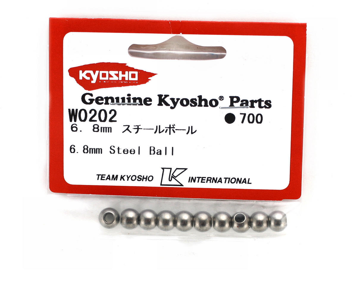 Kyosho 6.8mm Steel Balls (10)