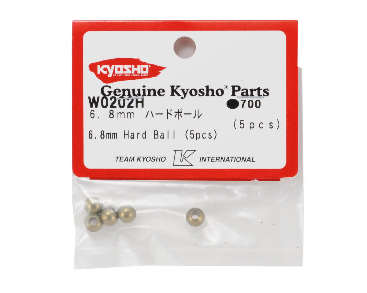 Kyosho 6.8mm Hard Anodized 7075 Steering Tie Rod Ball (Outer) (5)