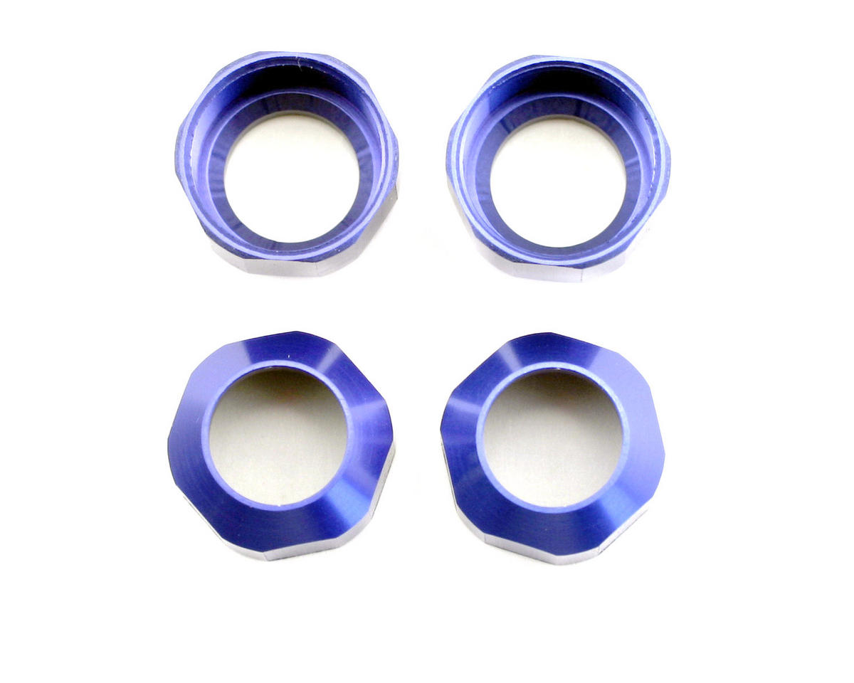 Kyosho Shock Cap Set (Blue) (4) (ZX-5)
