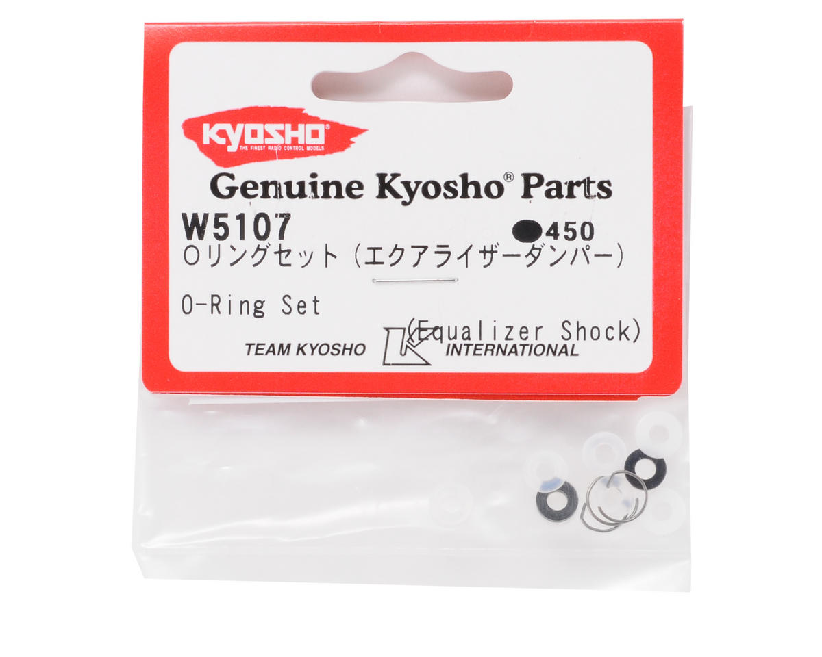 Kyosho Equalizer Shock O-Ring Set