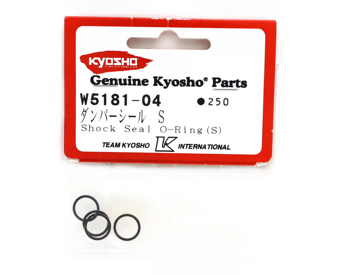 Kyosho Small Shock Seal O-Rings (4) (ZX-5)