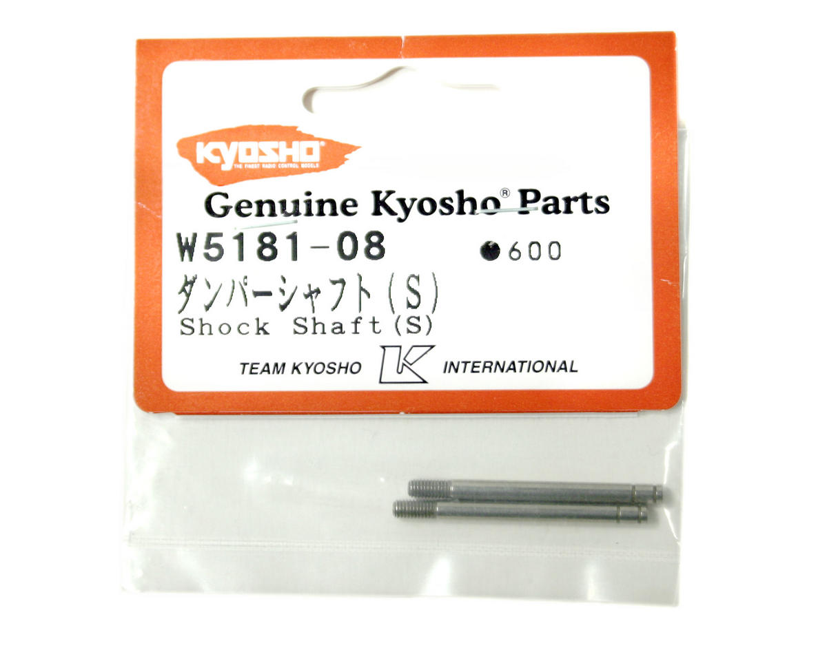 Front Shock Shafts (ZX-5) (2) by Kyosho