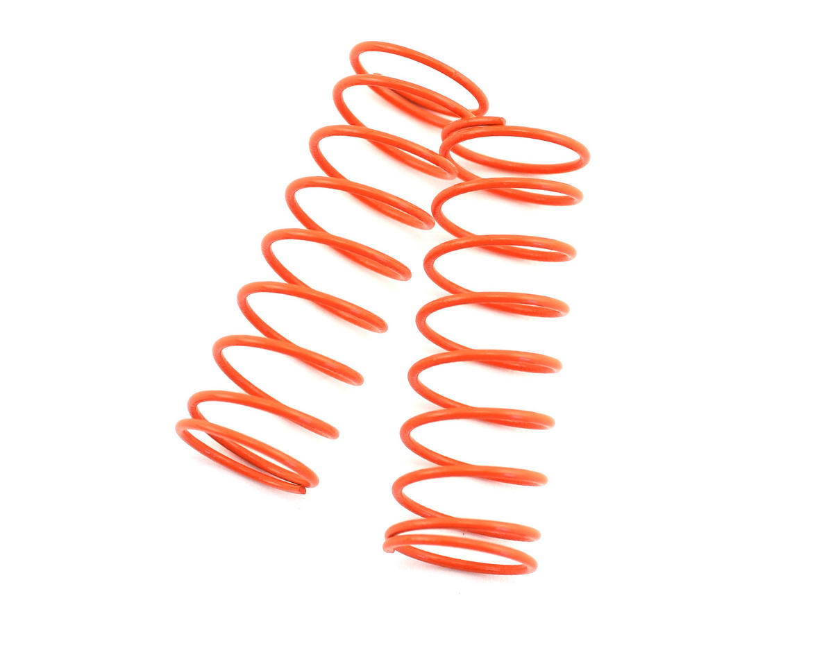 Front Shock Spring, Short (Orange - #55) (ZX-5) (2) by Kyosho
