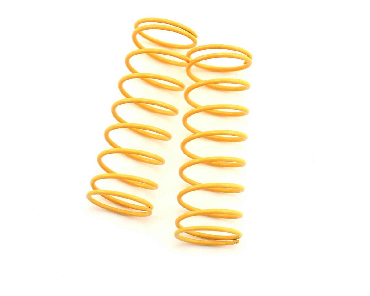Image 1 for Kyosho Front Shock Spring, Short (Dark Yellow - #60) (ZX-5) (2)