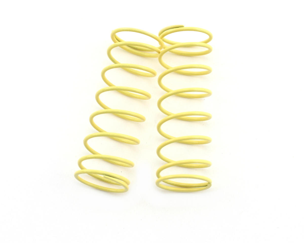 Kyosho Front Shock Spring, Short (Light Yellow - #65) (ZX-5) (2)