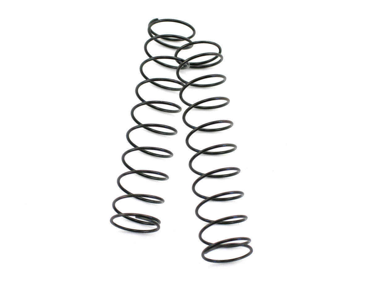 Kyosho Rear Shock Spring, Long (Black - #50) (ZX-5) (2)