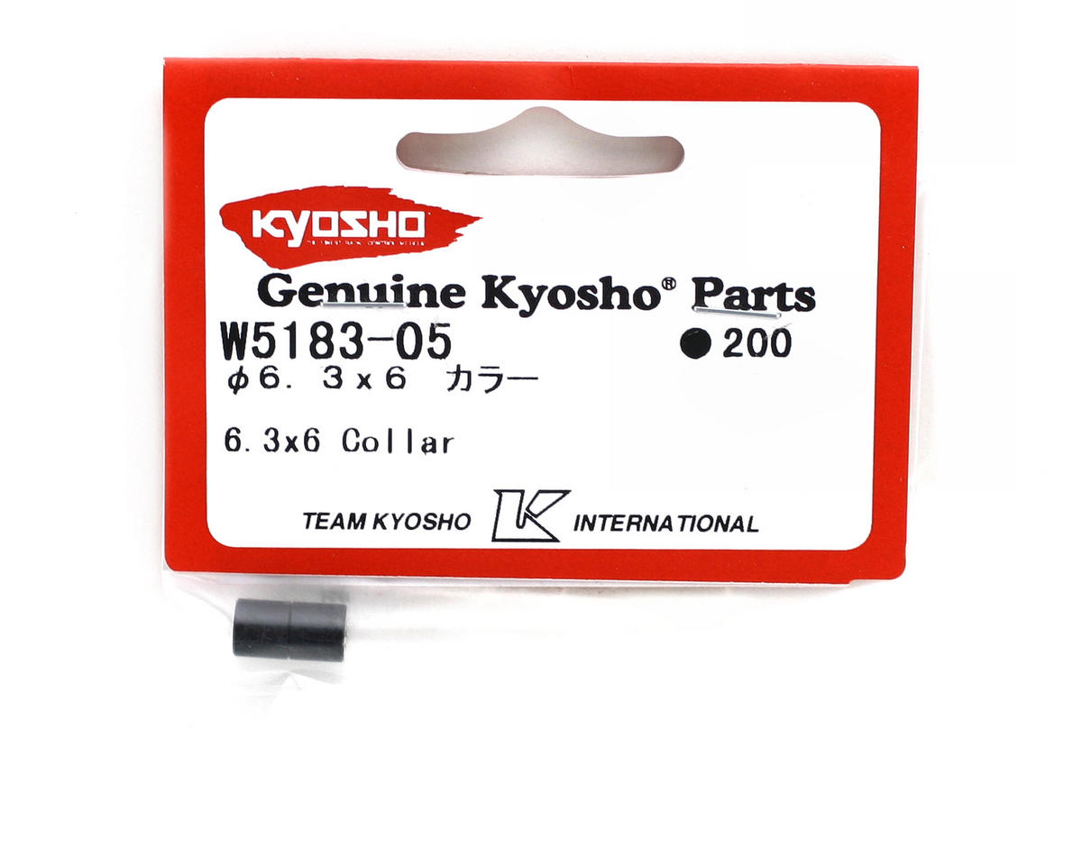 Kyosho 6.3x6mm Collar (2) (ZX-5)