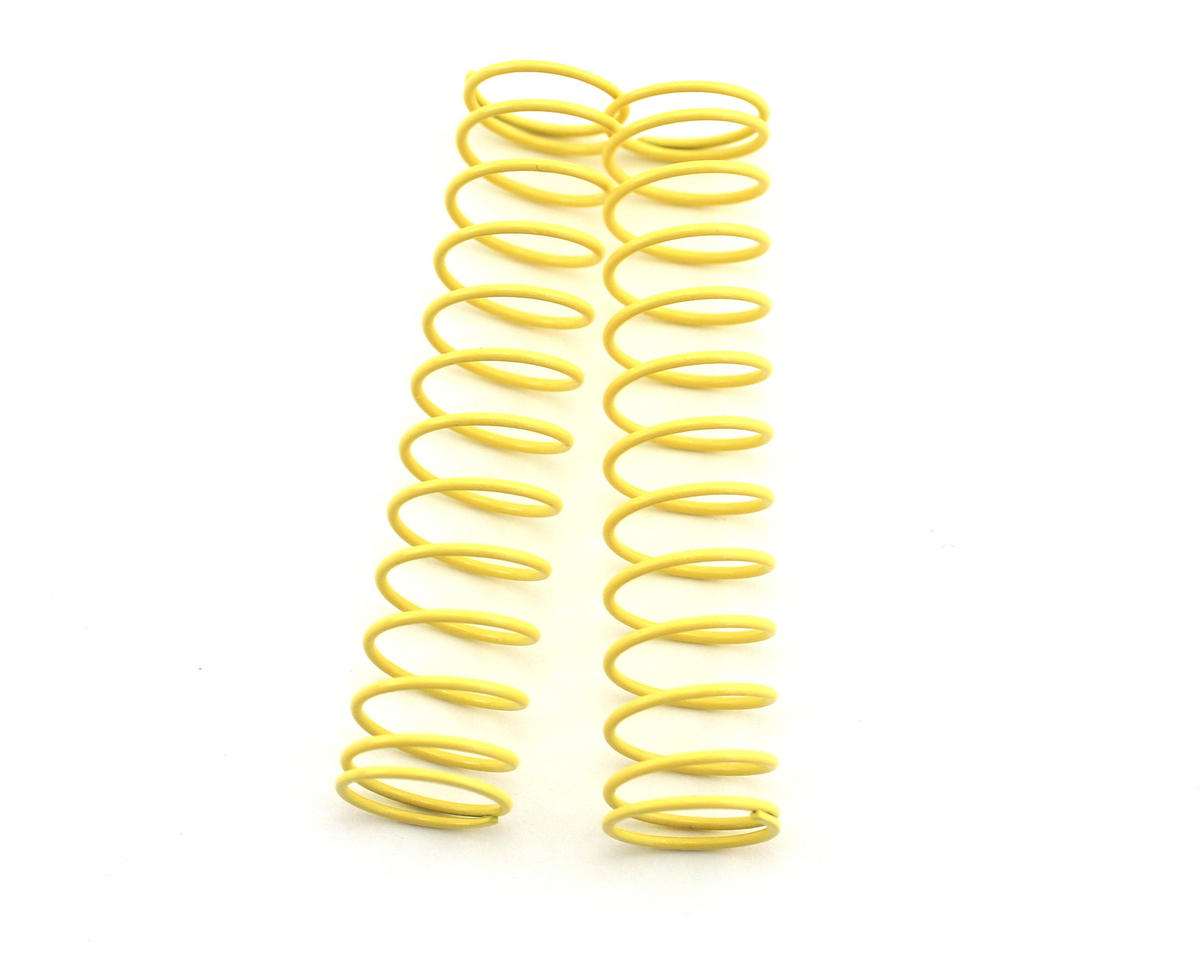 Rear Shock Spring, Long (Light Yellow - #65) (ZX-5) (2) by Kyosho
