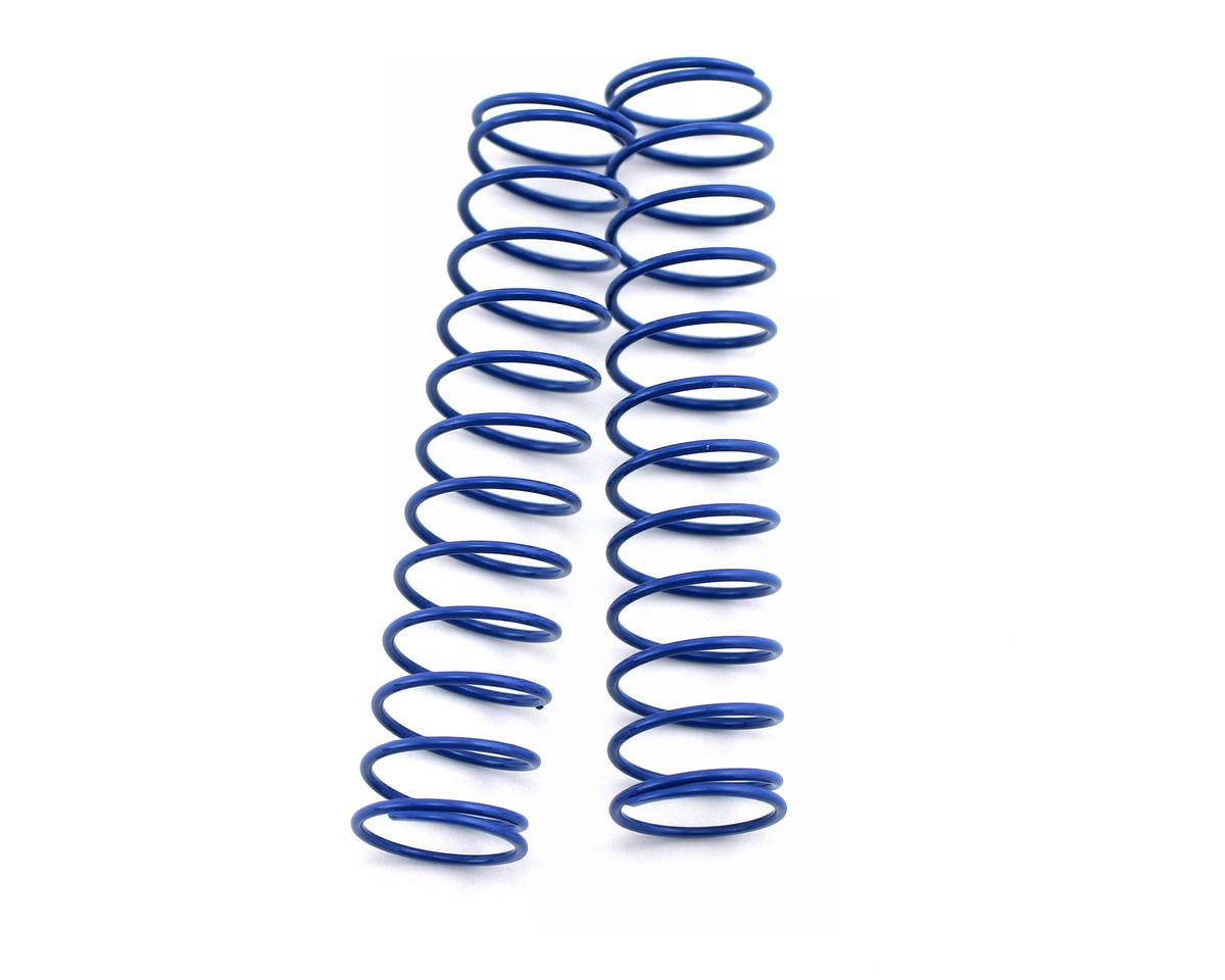Kyosho Rear Shock Spring, Long (Dark Blue - #68) (ZX-5) (2)