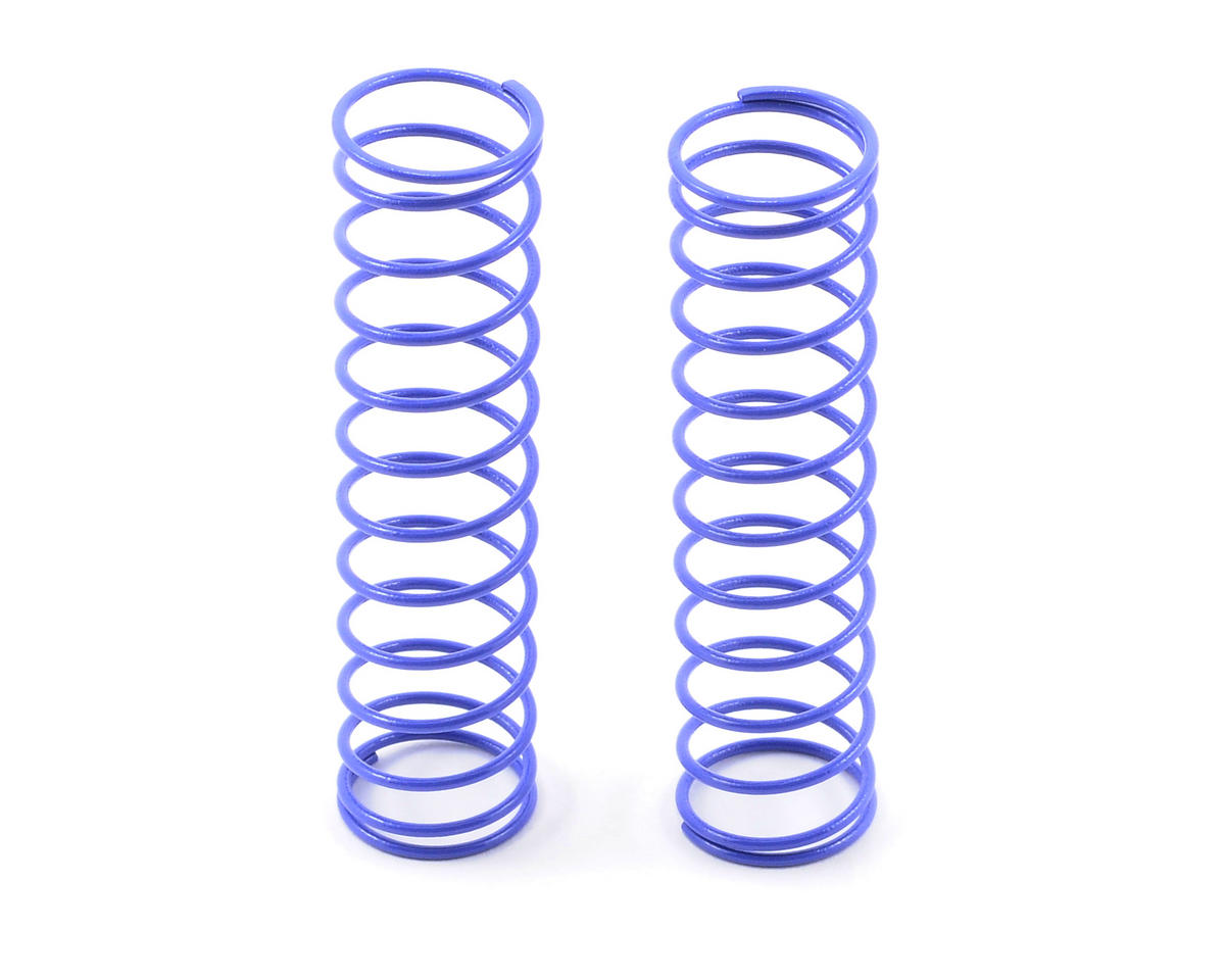 Kyosho Long Rear Shock Spring (2) (Cobalt Blue - #72)
