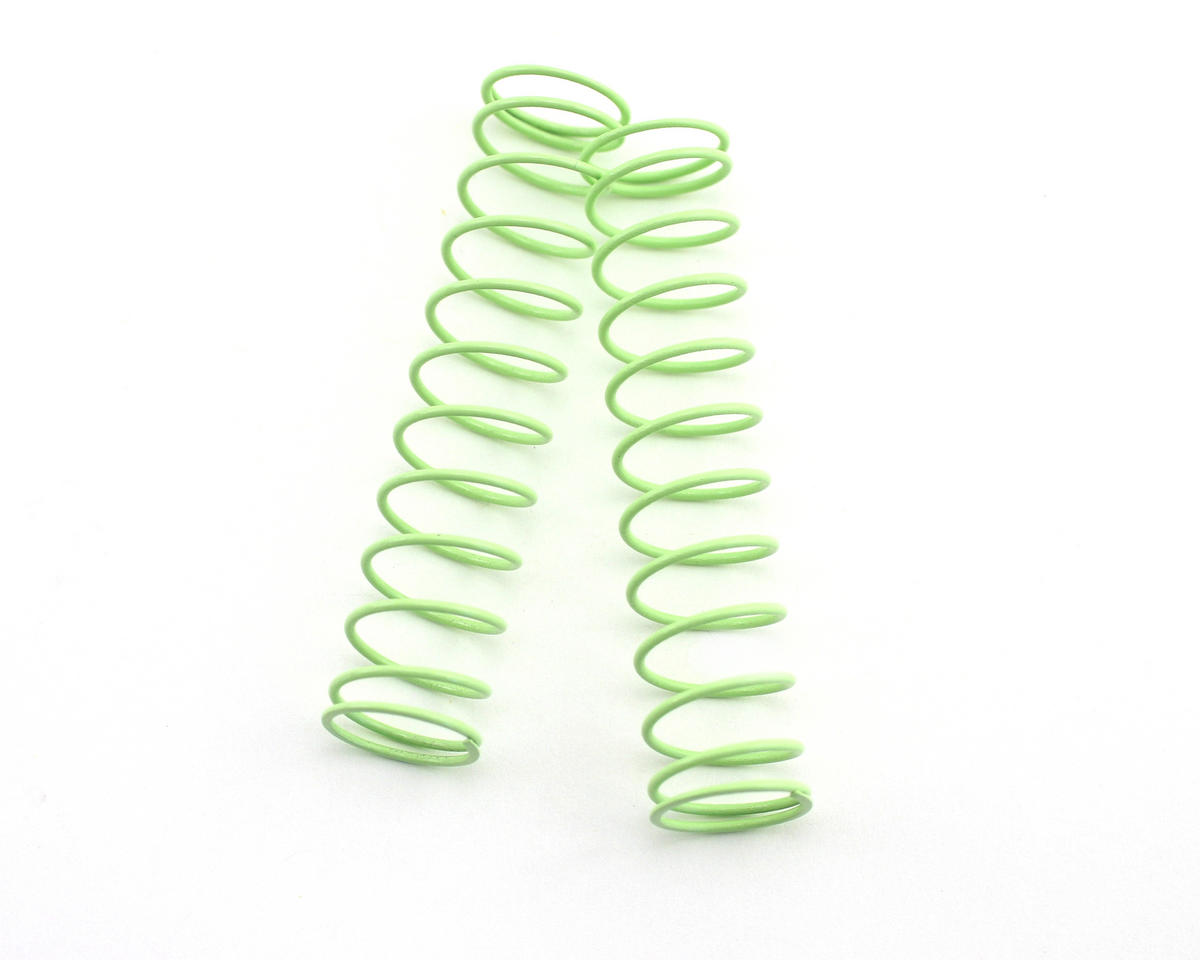 Kyosho Rear Shock Spring, Long (Light Green - #75) (ZX-5) (2)