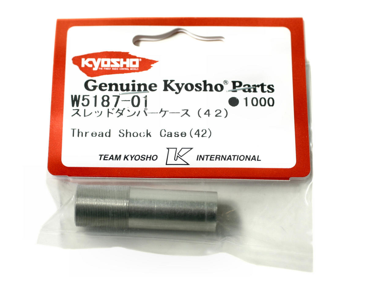 Kyosho Twin Cap Threaded Rear Shock Case (42mm) (ZX-5)