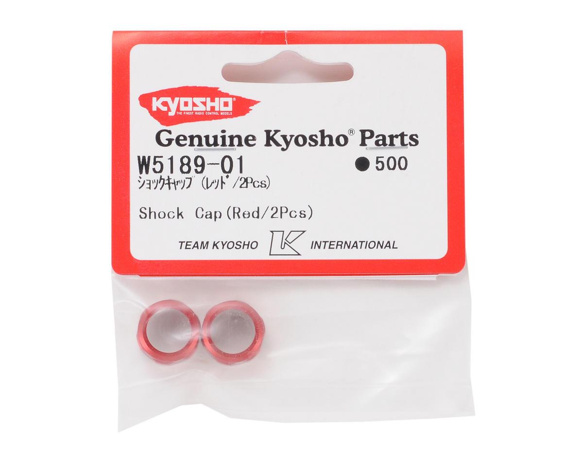 Kyosho Shock Cap (Red) (2)