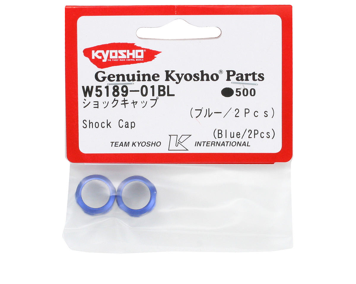 Kyosho Blue Shock Cap (ZX-5 SP) (2)