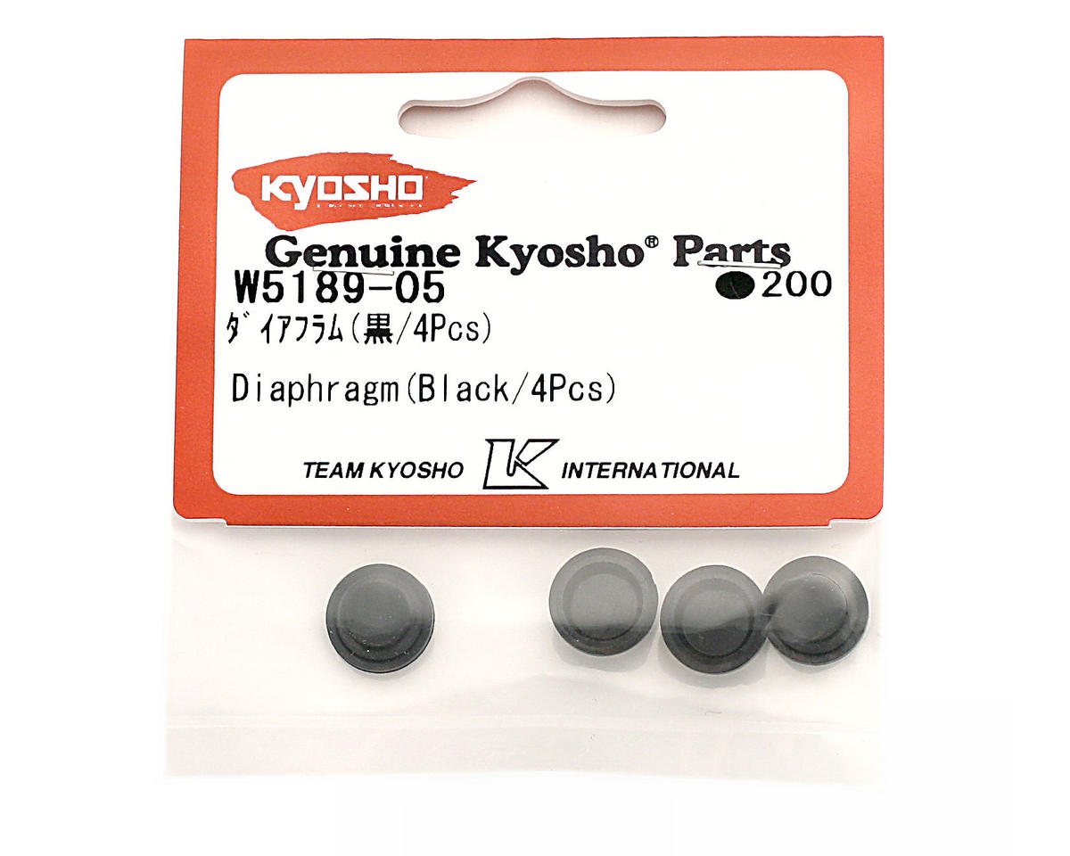 Kyosho Diaphragm (Black) (4)