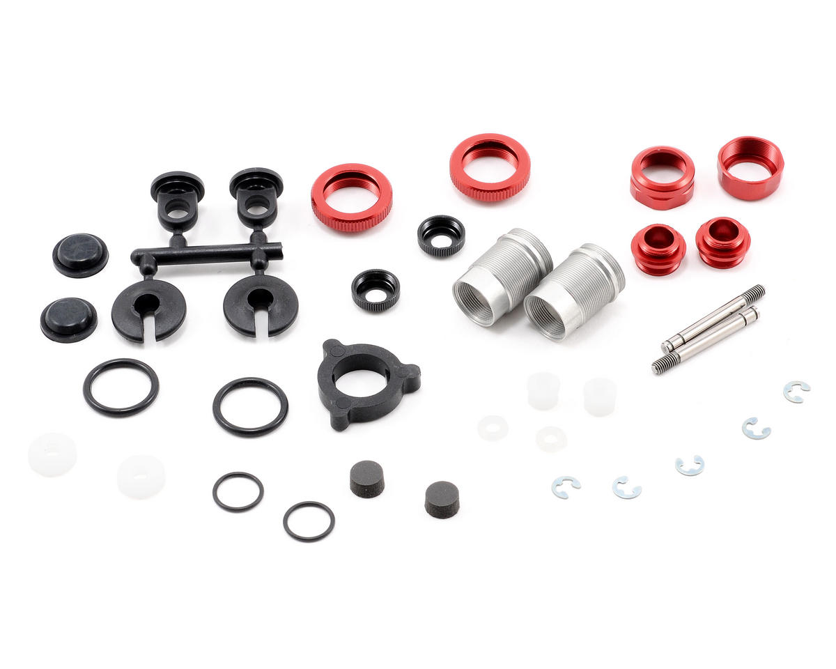 Kyosho Triple Cap Thread Shock Set (Red)