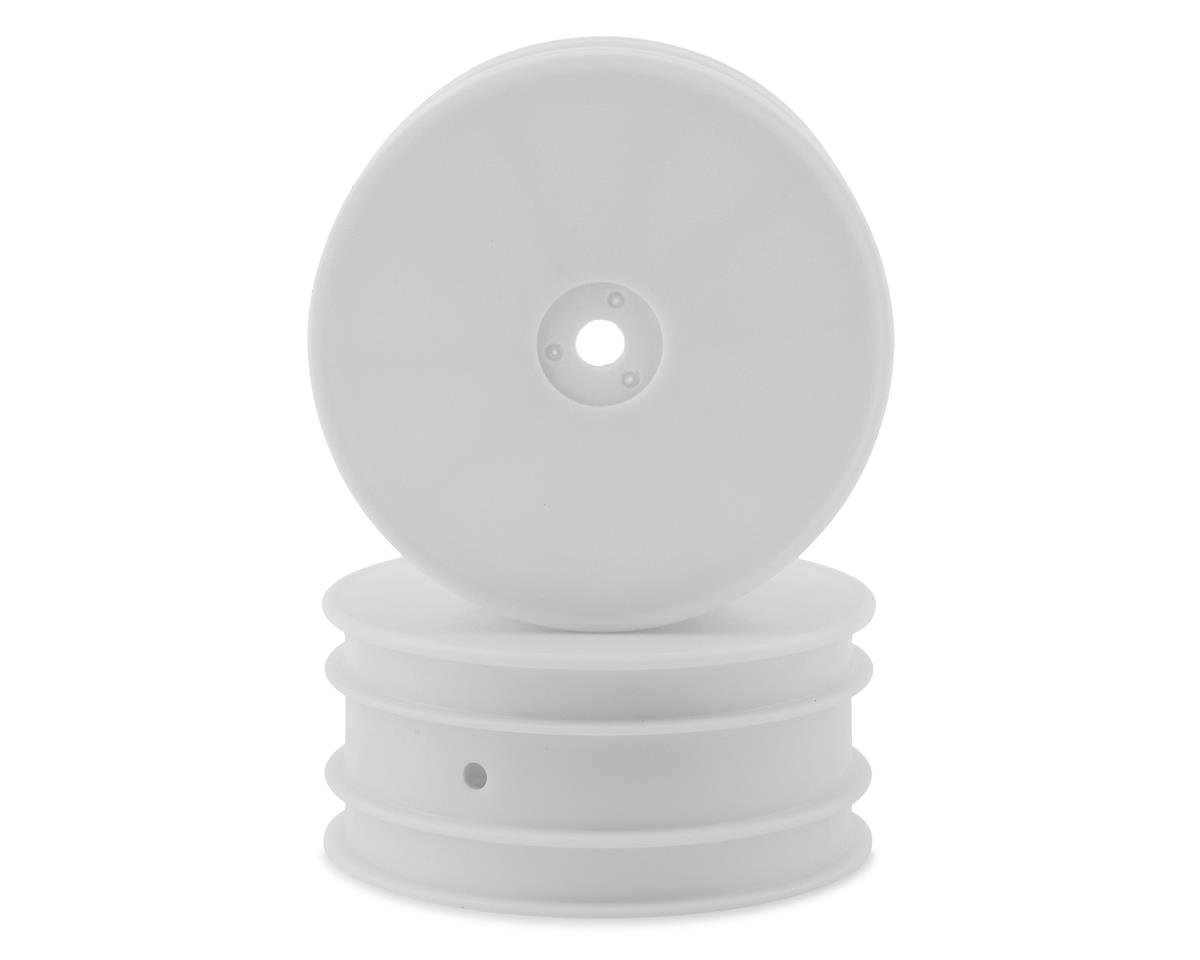 """Kyosho 12mm Hex 2.2"""" 2WD Front Wheels (RB7) (2) (White)"""