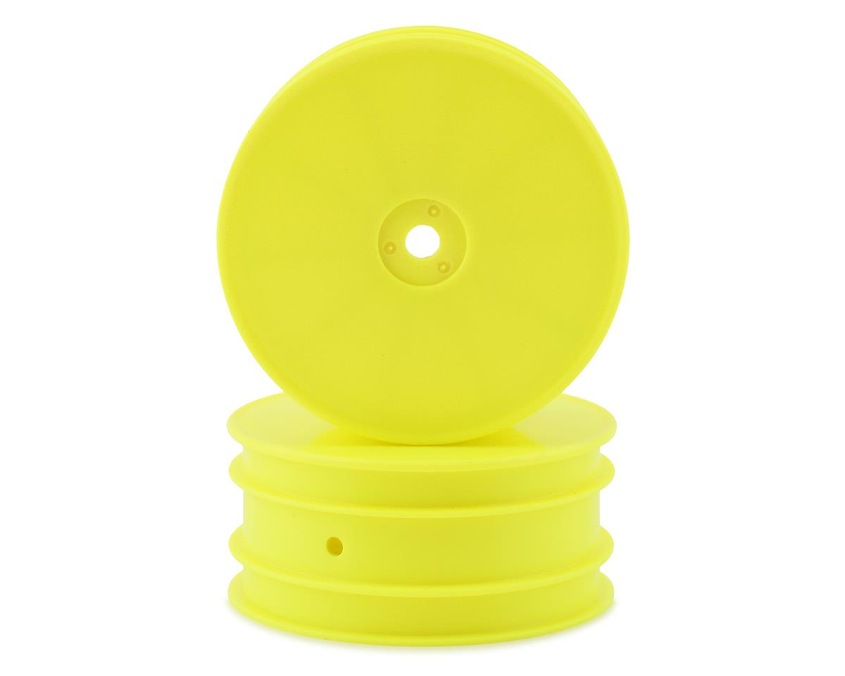 "Kyosho 12mm Hex 2.2"" 2WD Front Wheels (RB7) (2) (Yellow) 