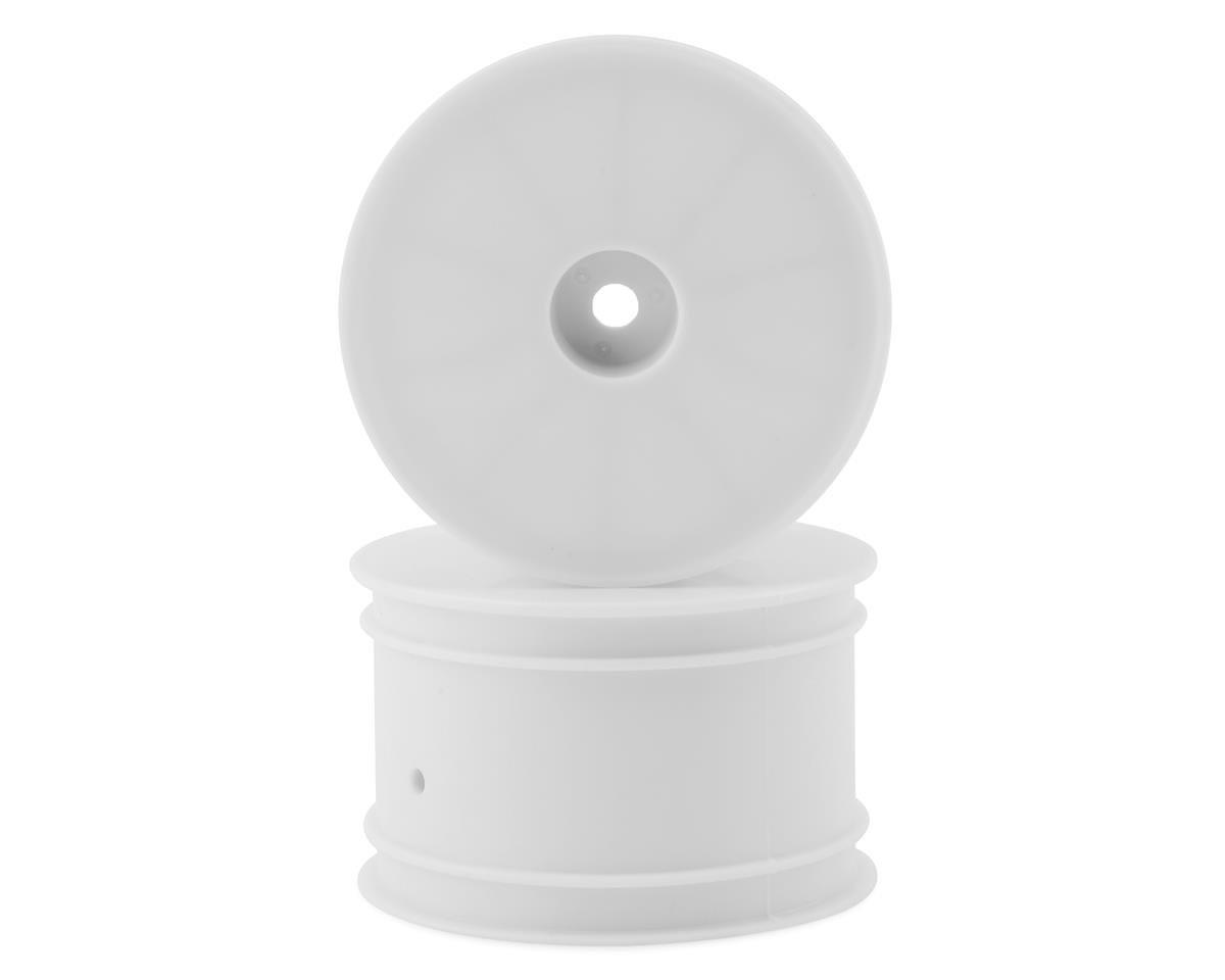 "Kyosho 12mm Hex 2.2"" Rear Wheels (RB7) (2) (White)"