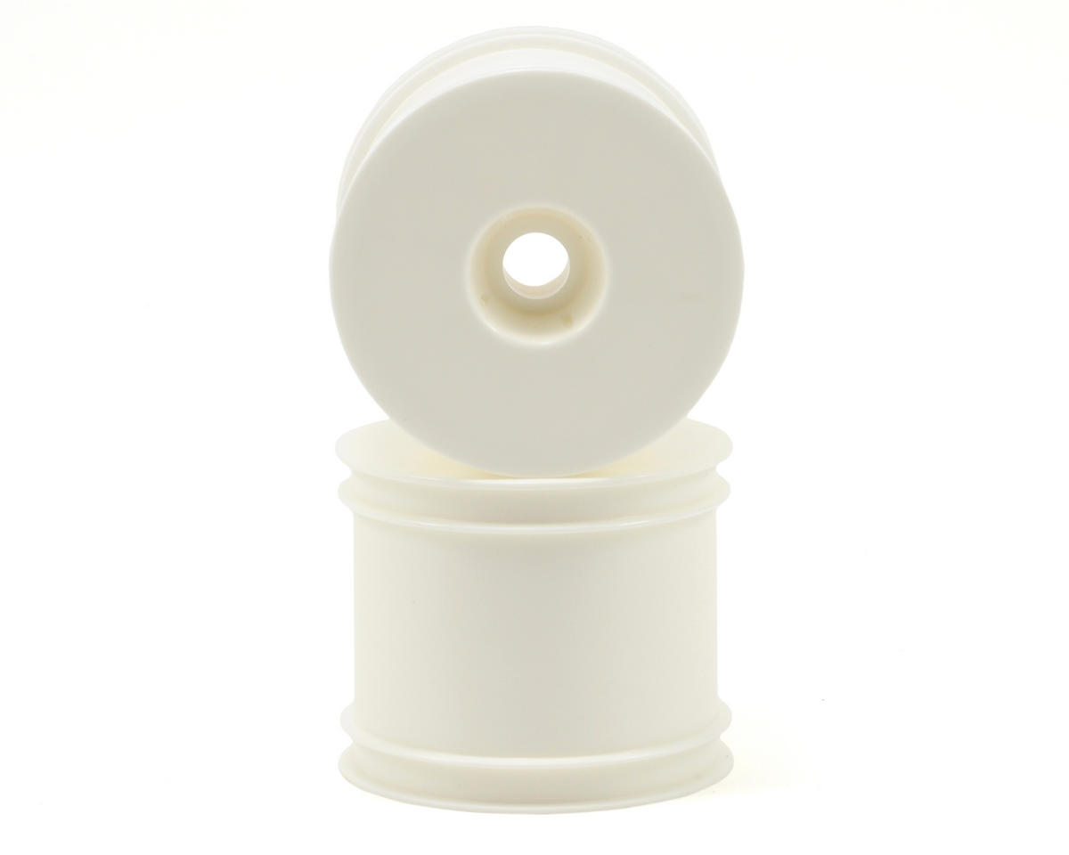 "Kyosho 2.2"" Quick Change Stadium Truck Wheel (White) (2) (RT6)"