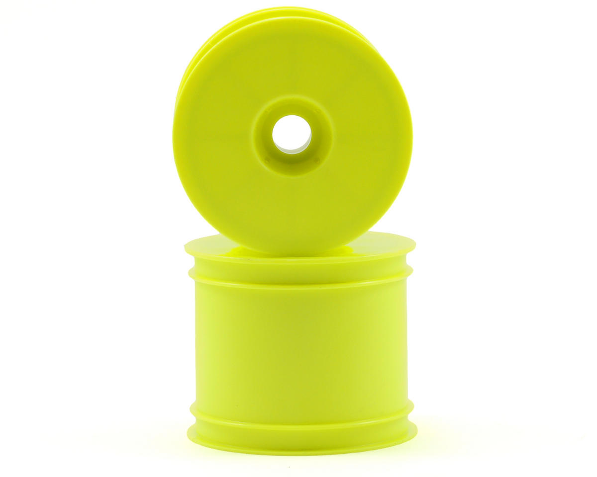 "Kyosho 2.2"" Quick Change Stadium Truck Wheel (Yellow) (2) (RT6)"