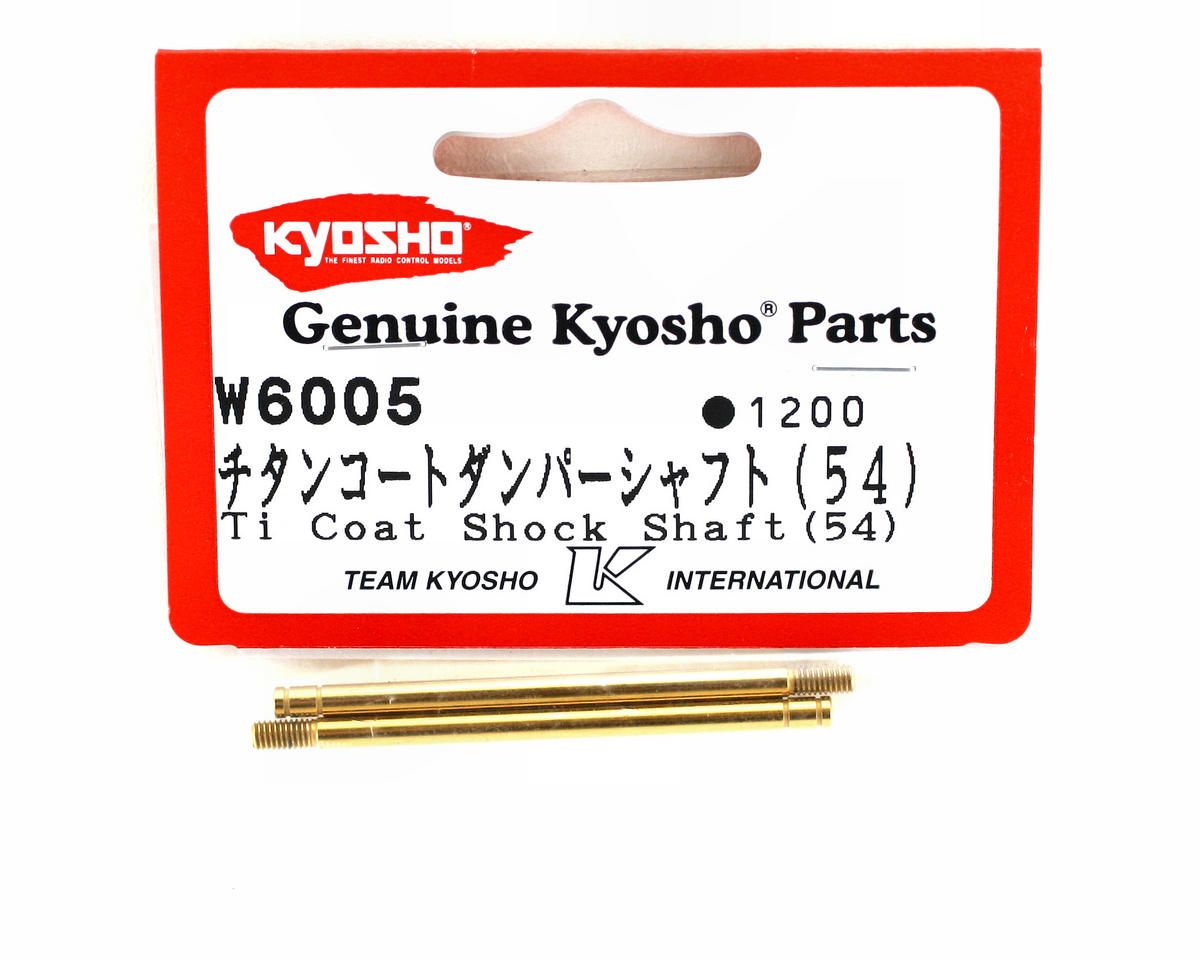 Kyosho Titanium Nitride Rear Shock Shafts (ZX-5) (2)
