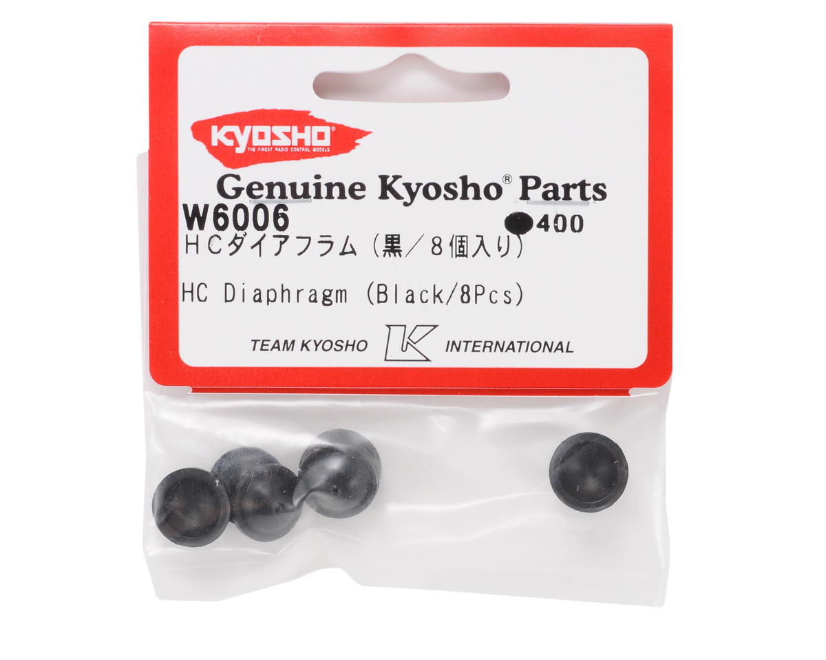 HC Diaphragm (Black) (8) by Kyosho